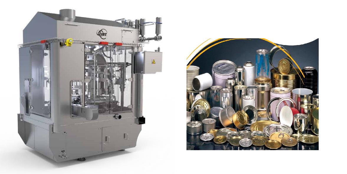 JBT Foodtech ; vuller sluiter machine ; ontwerp & fabricatie