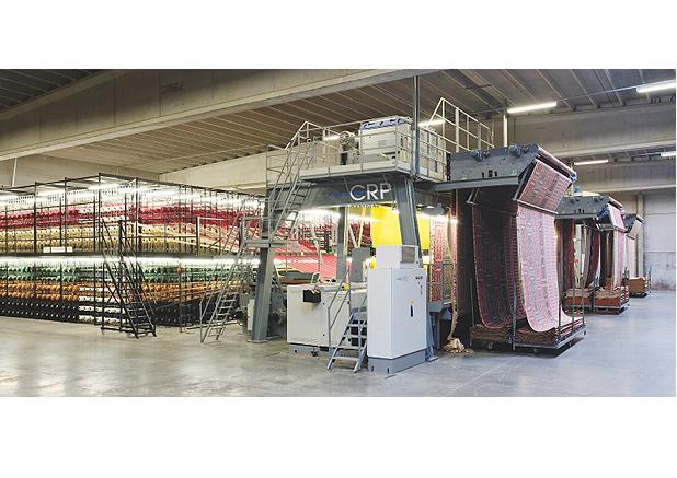 Weefgetouw ; tapijt ; textiel ; machine